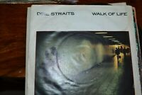 "DIRE STRAITS   WALK OF LIFE     7""  SINGLE    VERTIGO RECORDS   DSTR 12"