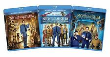 Night at the Museum 1-3 Bundle (Blu-ray) NEW Factory Sealed, Free Shipping