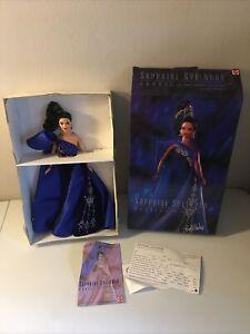 Barbie Jewel Essence Collection - Sapphire Splendor Doll #15523 Bob Mackie