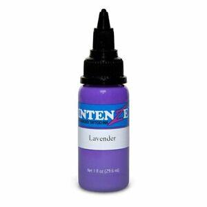 INTENZE Tattoo Ink Individual Bottle PURPLE & PINK Color 1 oz 2 oz 1/2 oz Size