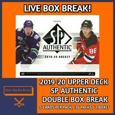 2019-20 SP AUTHENTIC (x2) DOUBLE BOX BREAK #41 - PICK YOUR OWN TEAM!