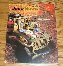 Original Fall 2001 Jeep News Brochure 01