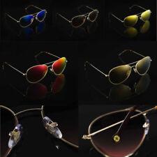 Gafas de sol de mujer aviadores oro 100% UV