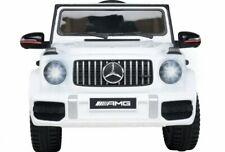 Kinder Elektro Auto Mercedes G63 AMG V2 2x 25W 12V 2.4G RC Fernverbindung