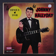 "JOHNNY HALLYDAY: Le Disque D'or LP (Canada, 4"" split seams) Oldies"