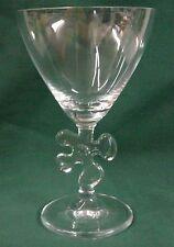 Marc Aurel Crystal LUCKY FOUR LEAF CLOVER Water Goblet GO IRELAND!  Mult Avail
