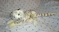 "Busch Gardens 11"" White Tiger Plush Soft Toy Stuffed Animal"