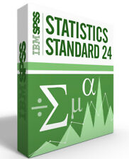 SPSS Statistics Grad Pack 24.0 Standard Windows or Mac - 12 month License