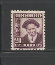 ANDORRA ESPAÑOLA. Año: 1948/53. Tema: TIPOS DIVERSOS.