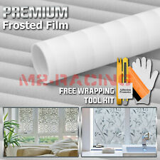 *Premium Frosted Film Glass Home Bathroom Window Security Privacy Sticker #5018