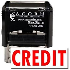 MaxStamp - Self-Inking Credit Stamp (Red Ink)
