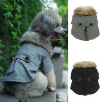 UK Winter Autumn Spring Coat for Small Dogs Pets Puppy Parka Jumper Jacket Coat