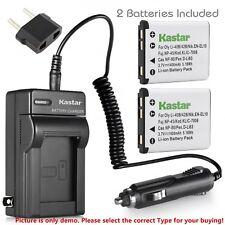 Kastar Battery Travel Charger for Kodak KLIC-7006 K7006 & Kodak Easyshare M580