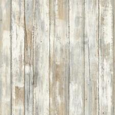 RMK9050WP Distressed Wood Peel and Stick Wallpaper