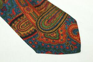 JOHN COMFORT Silk tie Made in England F16728