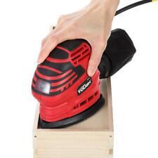 Hand Sander & Dust Bag, 1.5 AMP Corded 14,000 Vibrations Per Minute Hyper Tough