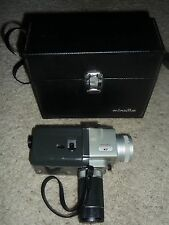 Rare Collector's Item Minolta AutoPak-8 K7 8mm Movie Film Camera w/ Case
