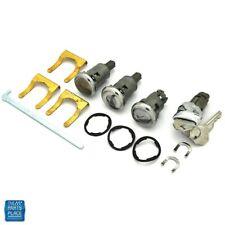 1961-1964 Impala Bel Air Ignition Door Trunk Lock Kit Orig Key Long Cylinder 274