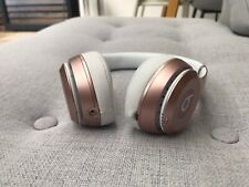 Beats by Dre Solo2 Wireless Bluetooth Headphones - Rose Gold - Used once