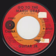 "GUITAR JR  - ""GO TO THE MARDI GRAS"" b/w ""BROKE & HUNGRY"" on CAPITOL (VG++)"