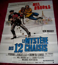 Cinema Poster: TWELVE CHAIRS 1970 (French Grande) Mel Brooks Ron Moody