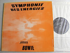 Johnny BOWIE Symphonie des energies FRENCH LP VOXIGRAVE folk jazz guitar -  EX+
