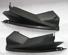 JAP4 APRILIA RSV4 1000 CARBON AIRDUCT COVERS SATIN FINISH