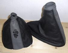 ALFA ROMEO 159 SW TI JTDM Shift Boot Brake Real Leather Two-coloured