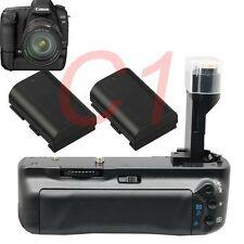 Vertical Battery Grip Pack Holder for Canon 5D Mark II 2x LP-E6 Battery as BG-E6