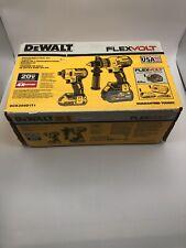 DEWALT DCK299D1T1 20V MAX FLEXVOLT Brushless Hammer Drill Impact Driver Kit- New
