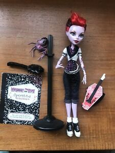 Monster High Operetta Doll With Stand First Wave