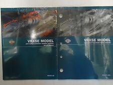 2006 HARLEY DAVIDSON VRXSE Models Parts Catalog & Owners Manual New OEM Set