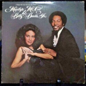 MARILYN McCOO & BILLY DAVIS, JR. I Hope We Get To Love in Time Album 1976 USA