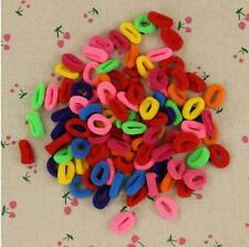 200X Colorful Women Child Kids Hair Holders Rubber Band Elastics Accessories