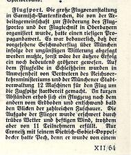 Desde el vuelo para la delantera del tren lo de la triunfa aviador Botch antes Ernst Udet u. doldi 1924