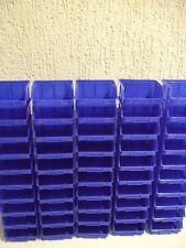 Sichtlagerkästen Stapelboxen Gr.1 Schraubenbox Sortierbox  50 Stück