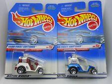 Hot Wheels - Tee'd Off - 1999 First Editions - Collector #683 - Golf Cart - Set