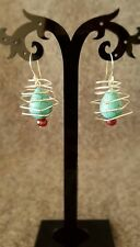 HANDMADE! Bead Earrings 10021
