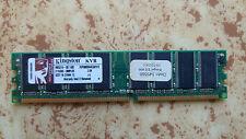 Mémoire Vive RAM DDR 512Mo 400MHz PC3200 - Kingston