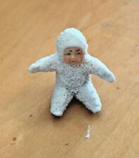 Big Sitting Sitter Snowbaby Snow Baby Germany Antique #C Snowbabie Figurine Doll