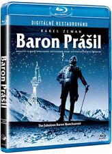Fabulous Baron Munchausen (Baron prasil) BLU-RAY Karel Zeman English subtitles