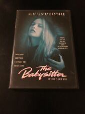 THE BABY SITTER DVD ALICIA SILVERSTONE