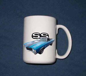 New 15 Oz. 1971 Chevy El Camino SS mug