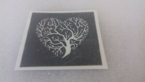 Tree of life stencils for etching on glass   present gift hobby craft