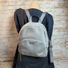 Kate Spade New York Dawn Medium Soft Taupe Nylon Backpack Bag Purse Pocketbook