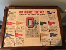 Vintage 1982 The Ohio State Buckeyes & Teams of Big 10 Information & Schedule