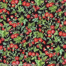 Moda -Sentimental Studios Wildflowers Spring Flowers - Black ,quilting fabric