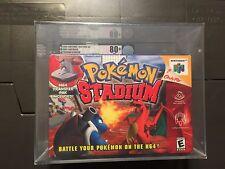 Pokemon Stadium  (Nintendo 64) Graded VGA 80+ SILVER
