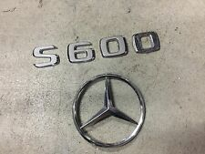 2000-2006 Mercedes-Benz W220 S500 AMG STAR badge logo decal S600 S500 S430 S280