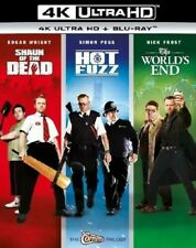 Shaun of the Dead / Hot Fuzz / The World's End [New 4K Uhd Blu-ray] Bo